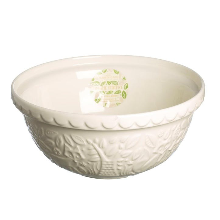 In the Forest Mixing Bowl - 29cm; Cream