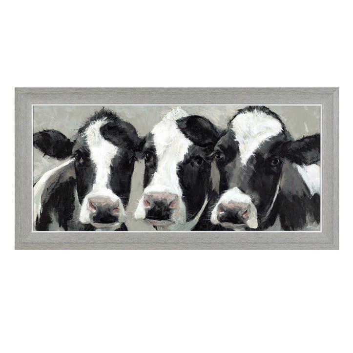 Dairy Dolls Framed Print - 47 x 95cm
