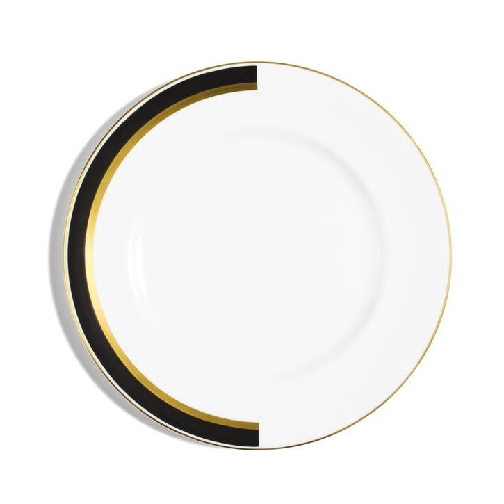 Arc Rimmed Dinner Plate