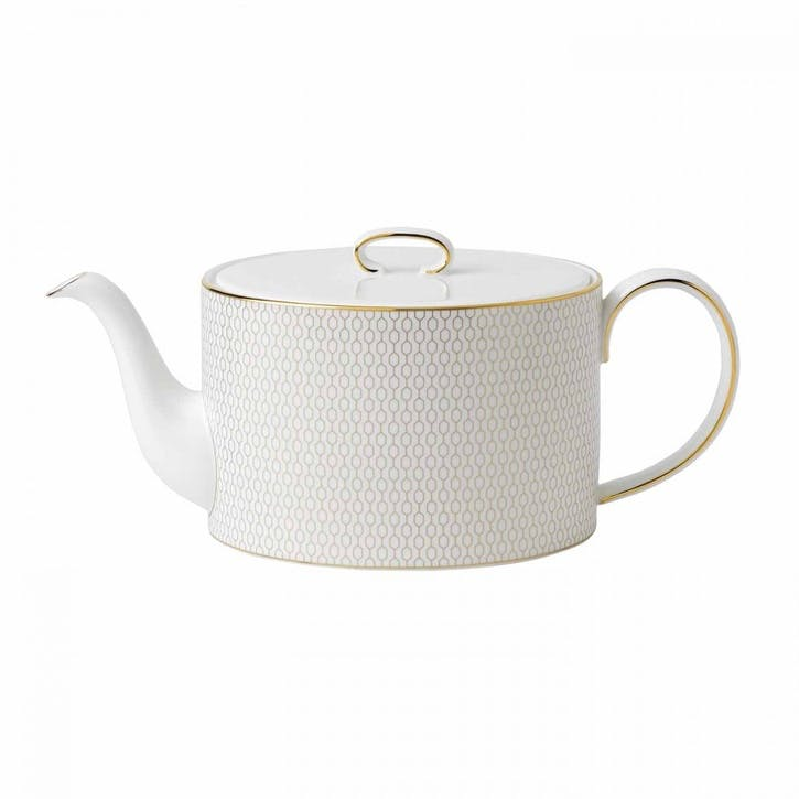 Arris White Teapot