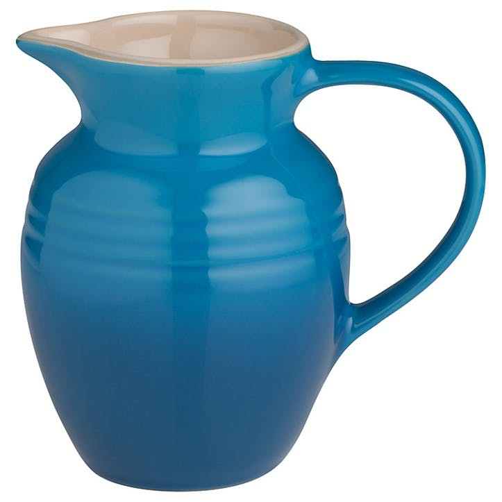 Stoneware Jug - 0.6L; Marseille Blue