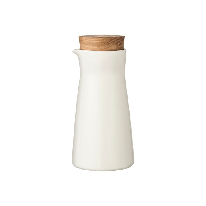 Teema Pitcher with Wooden Lid