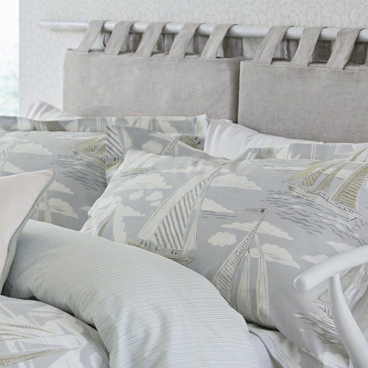 Sailor Oxford Pillowcase, Dove