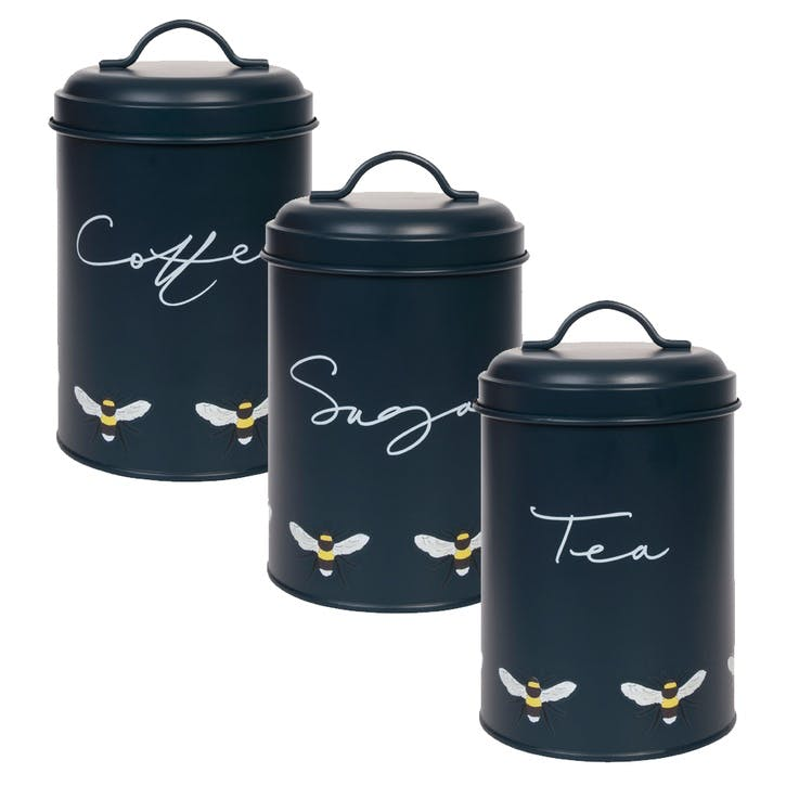 'Bees' Storage Tins, Set of 3