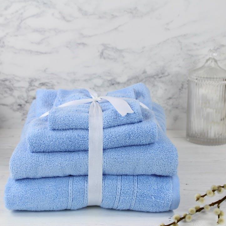 Essential Collection Zero Twist Bath Towel; Cornflower