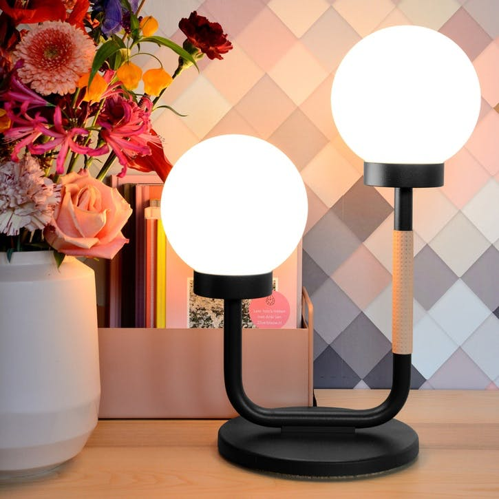 Little Darling, Table Lamp, H47 x W35 x D23cm, Black