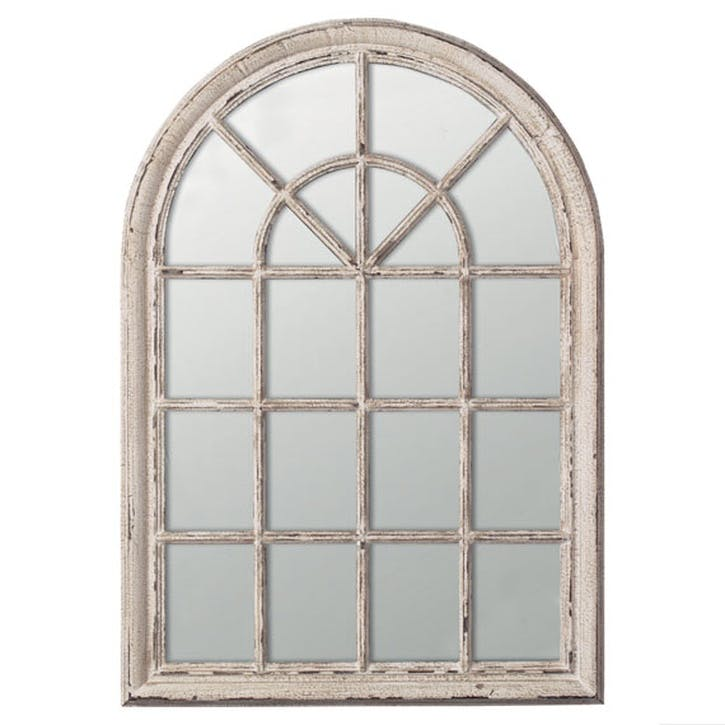 Heligan Arched Window Wall Mirror