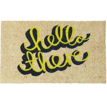 Hello There Door Mat, 75 x 45cm