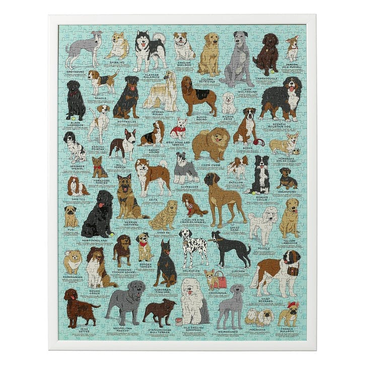 Dog Lovers Jigsaw Puzzle