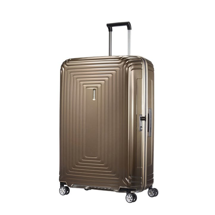 Neopulse Spinner Suitcase, 81cm, Metallic Sand