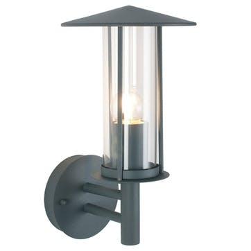 Outdoor Chimney Wall Light; Grey