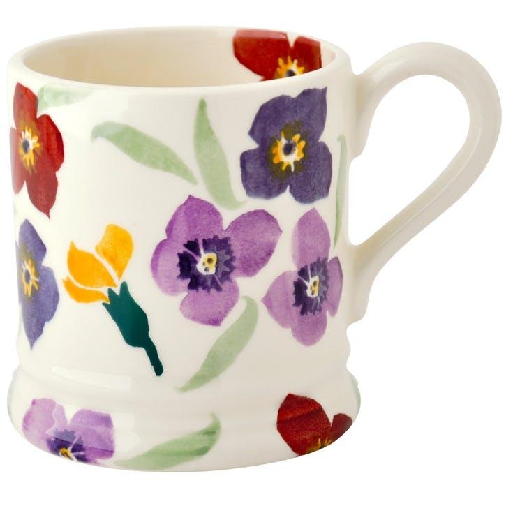 Wallflower Mug, 1/2 Pint