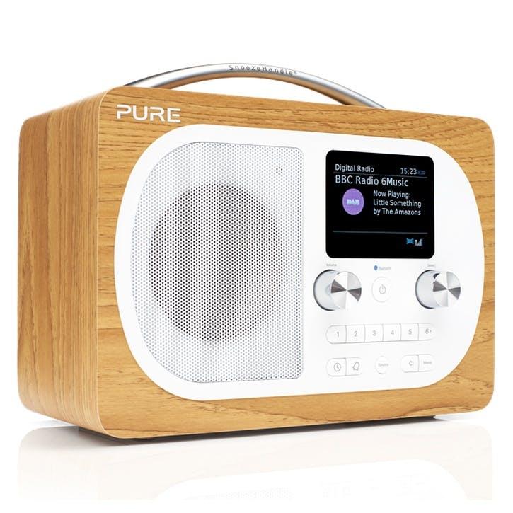 Evoke H4 DAB Radio - Oak