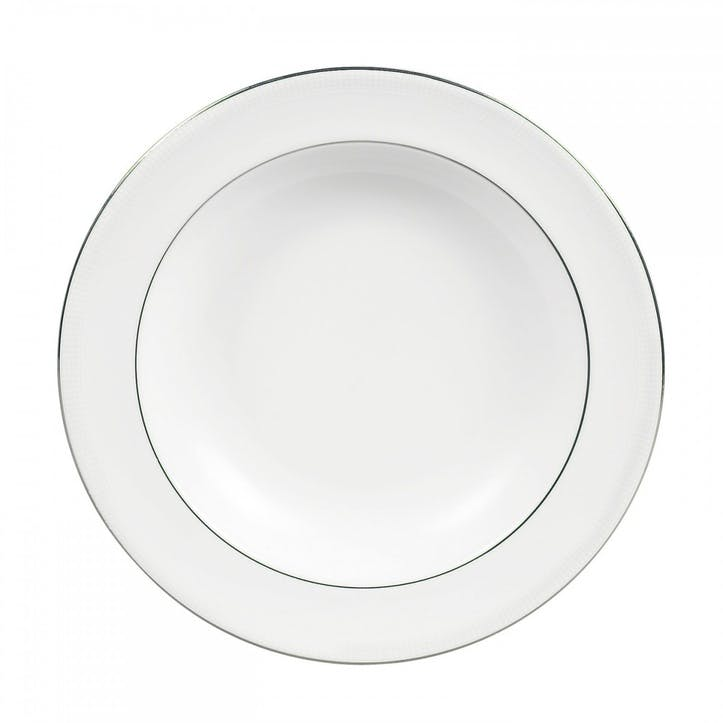 Blanc Sur Blanc Pasta Plate