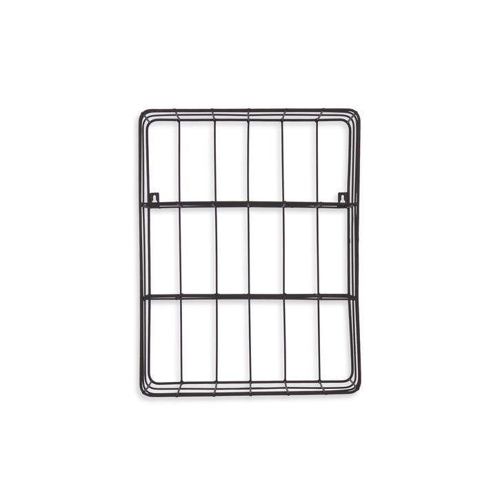 Farringdon Wirework Wall Crate, Charcoal
