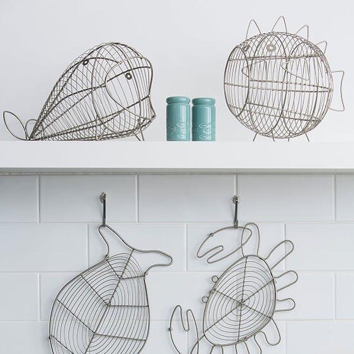 Ocean Fish Storage Basket