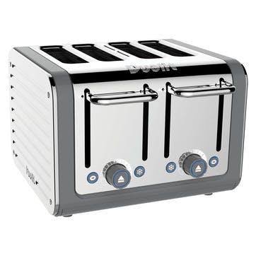 Architect Toaster, 4 Slot; Grey