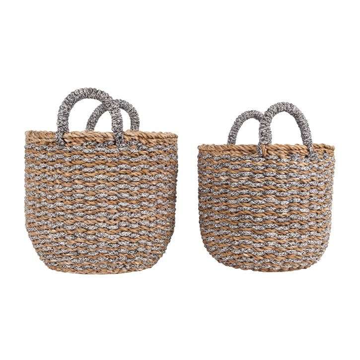 Sea Grass Basket, Set  of 2