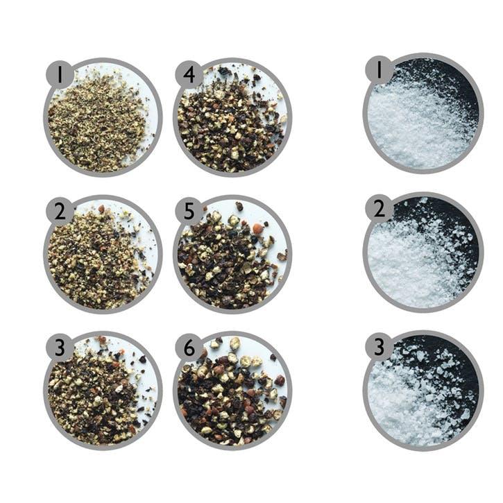 Derwent Forest Wood Salt & Pepper Mill Gift Set