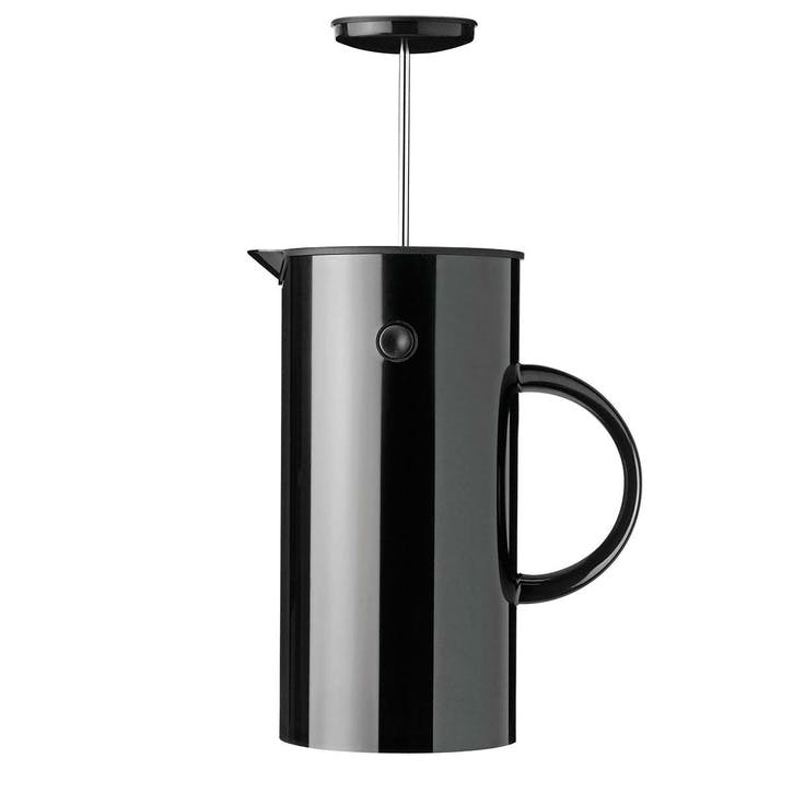 EM French Press 1L,  Black