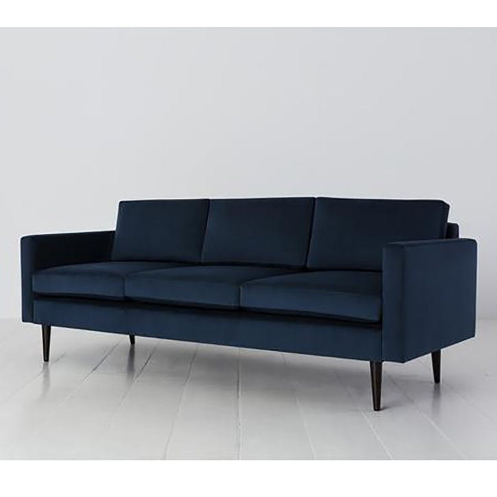 3 Seater Sofa, Model 01, Teal