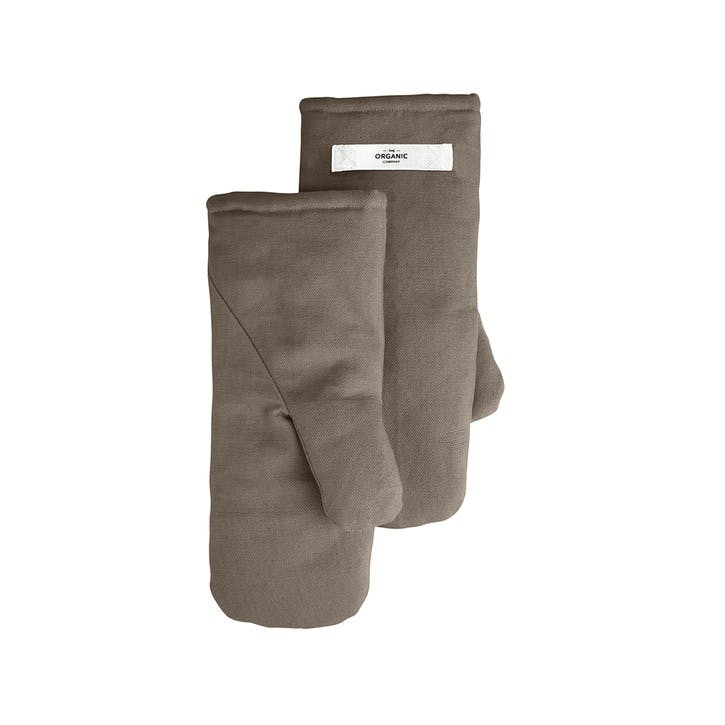 Oven Mitts Large Clay