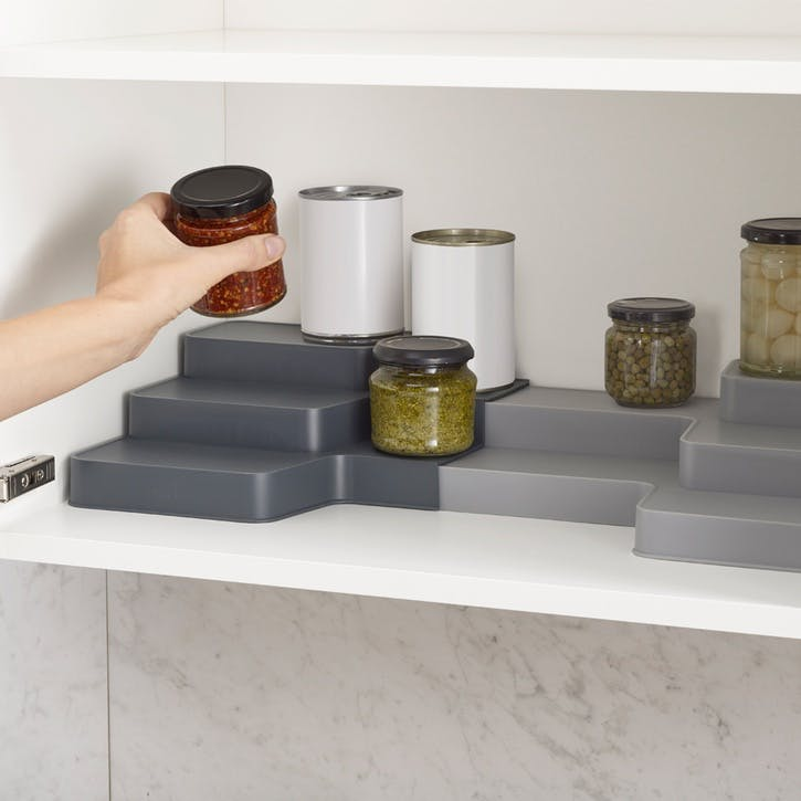 CupboardStore Expandable Tiered Organiser