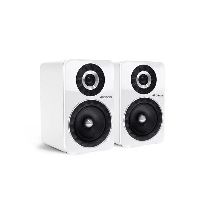 Prestige Facet PF6B Bluetooth Phono Speakers, White
