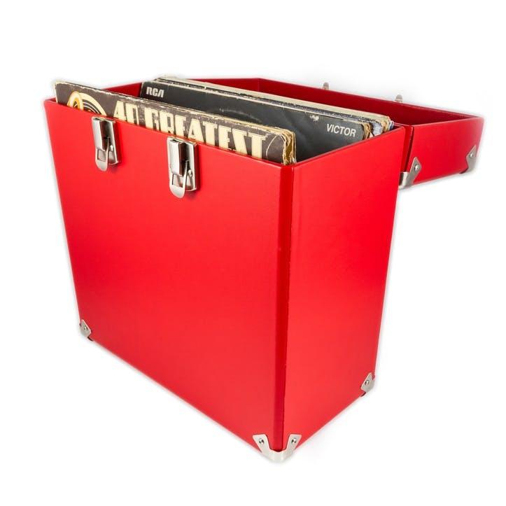 """12"""" Vinyl Case; Red"""