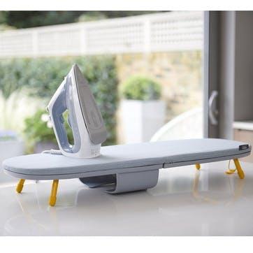Folding Table Top, Ironing Board, Grey/Yellow