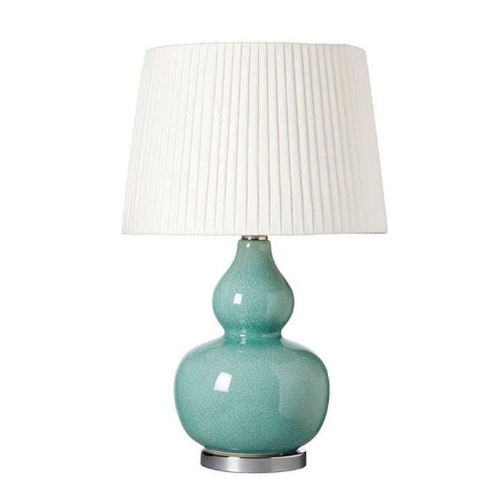 Calabash Table Lamp, Celadon