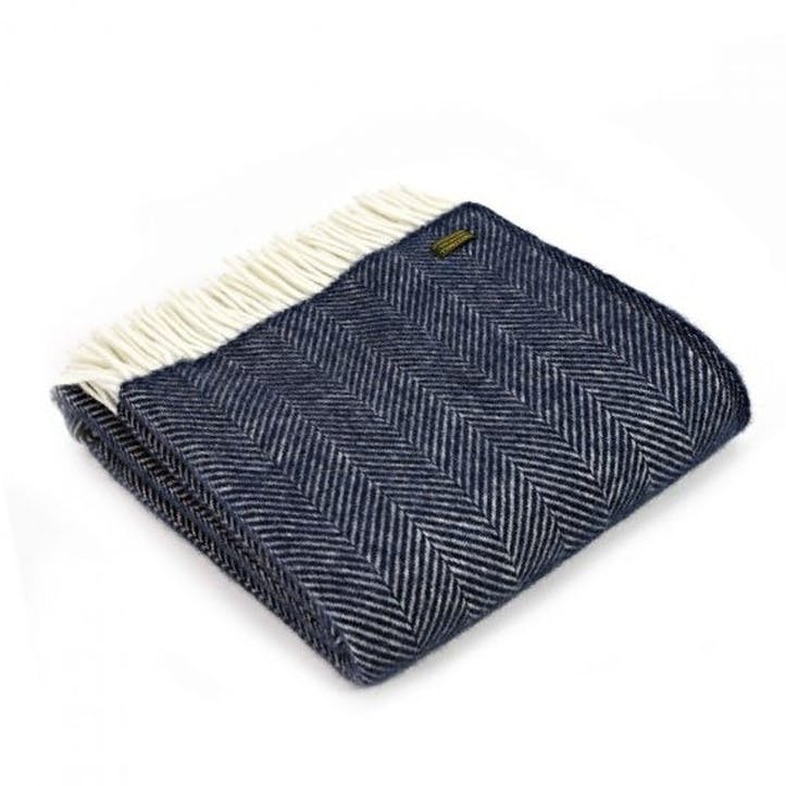 Fishbone Throw; Navy