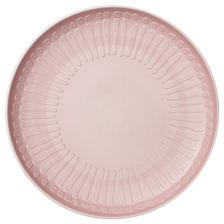 It's My Match Blossom Dinner Plate, Pink