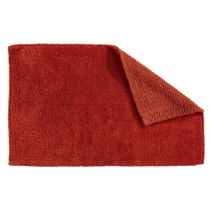 Reversible Bath Mat, Paprika