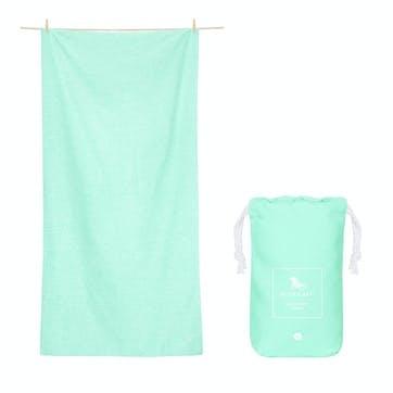 Active Yoga Towel; Rainforest Green; Large