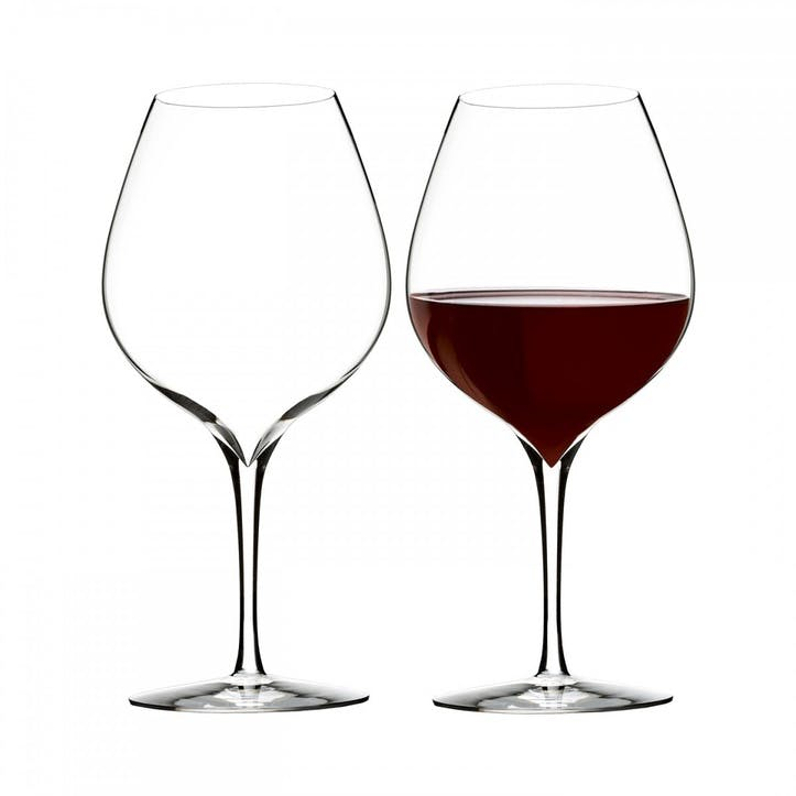 Elegance Crystal Wine Glass Merlot, Set of 2