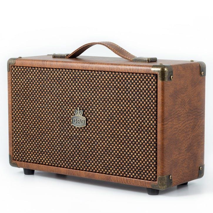 Westwood Speaker; Vintage Brown