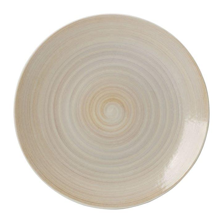 Studio Glaze Coupe Dinner Plate - 27cm; Classic Vanilla