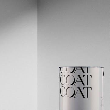 Flat Matt Wall & Ceiling Paint, Screenshot Pure White 2.5L