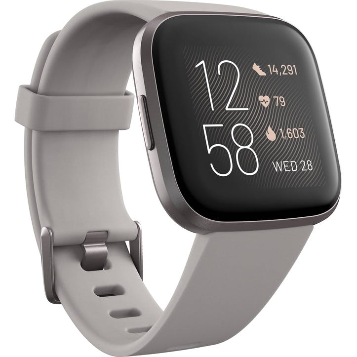 Versa 2 Smart Watch, Silver Grey