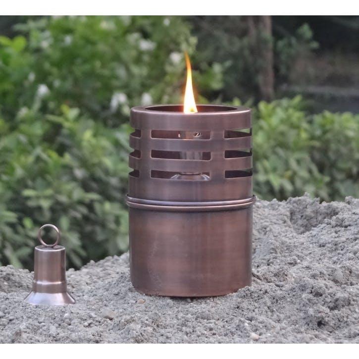 Genoa Mini Oil Lamp, Copper