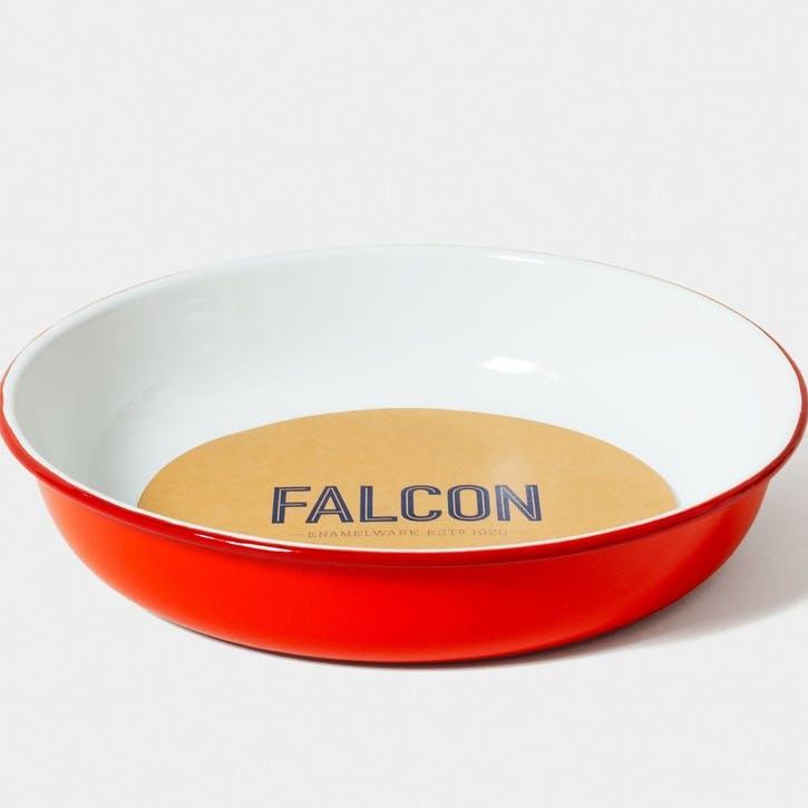 Large Salad Bowl, Pillarbox Red