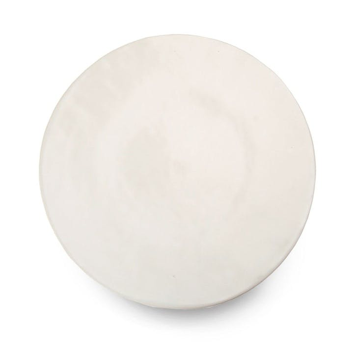 Mervyn Gers White Dinner Plate, 29cm