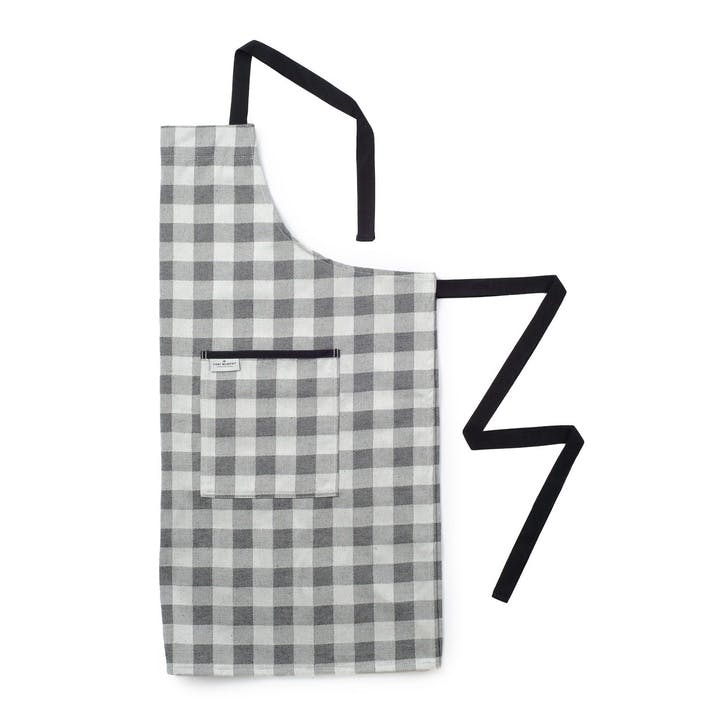 Woodhouse Check Apron; Black