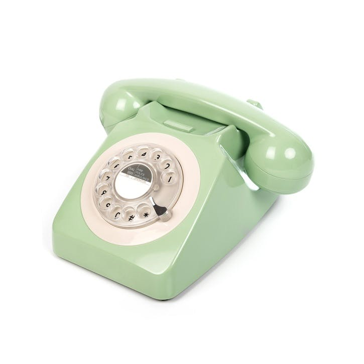 746 Rotary Telephone; Mint Green
