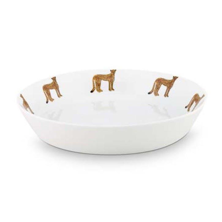 Cheetah Pasta Plate