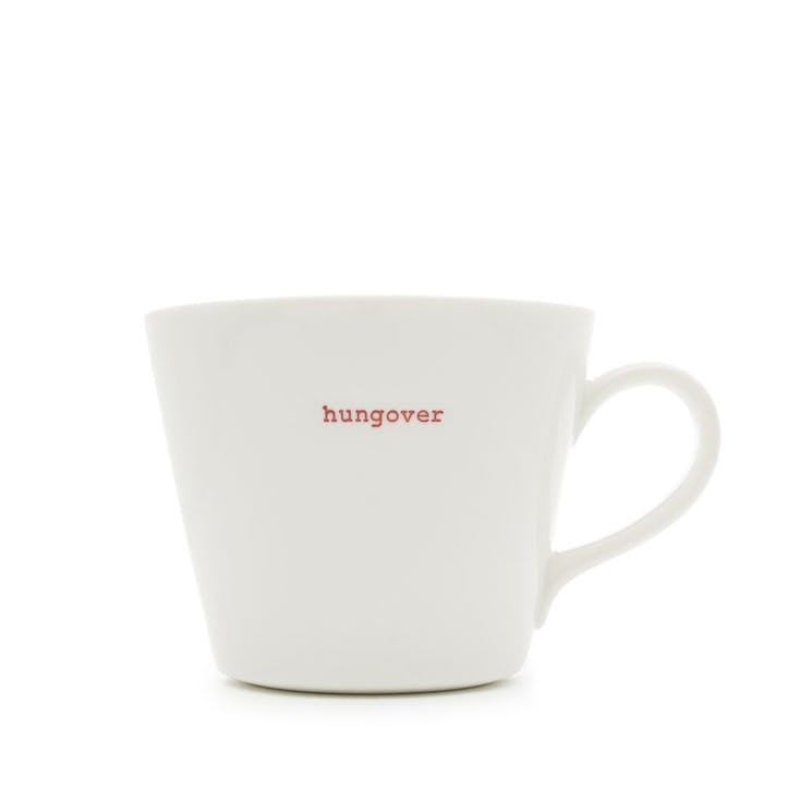 'Hungover' Bucket Mug, 350ml