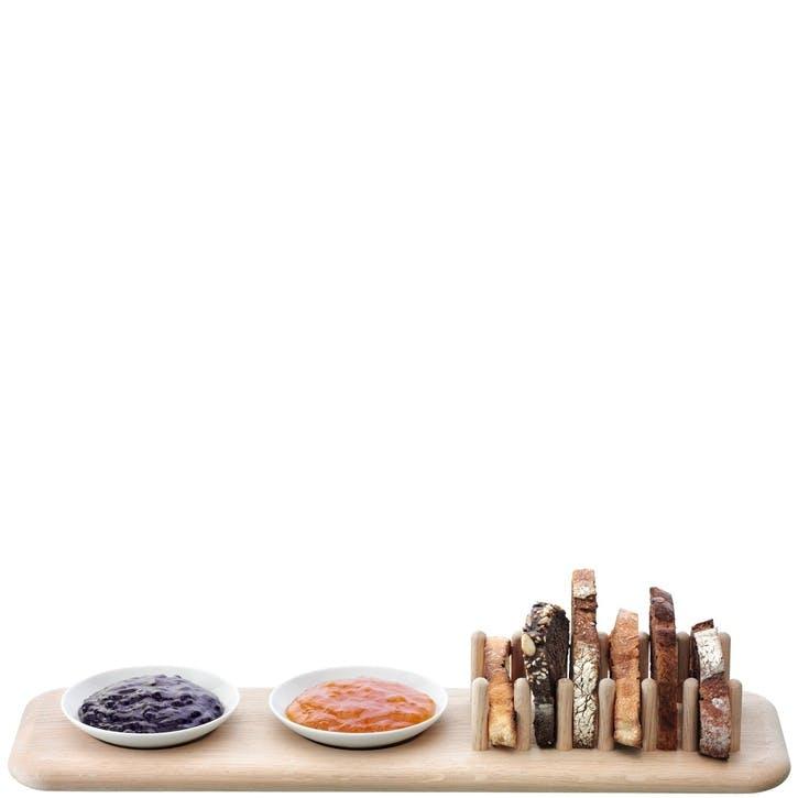 LSA Dine Oak Toast Rack Set