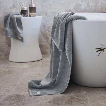 Eden Organic Cotton Blue Shadow Bath Towel