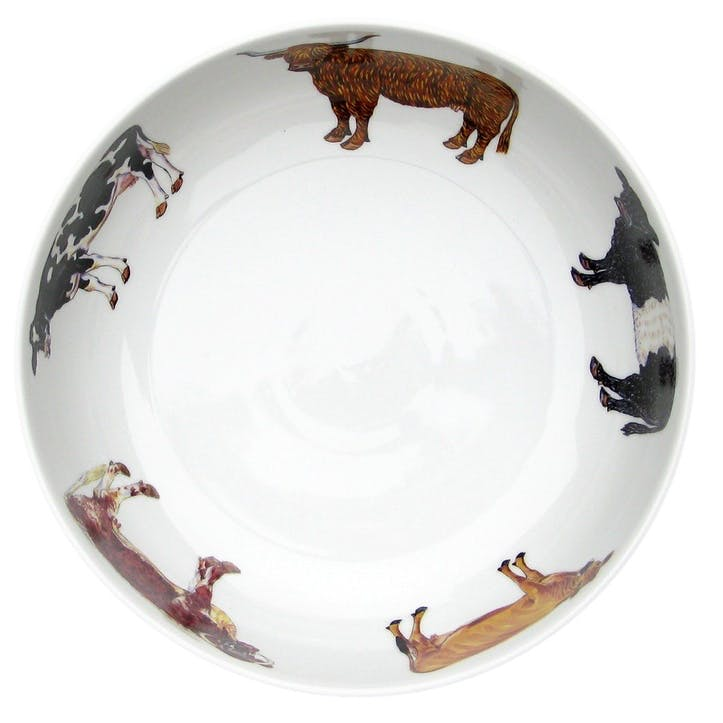 Cows Round Bowl - 24cm
